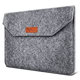 SAVFY Laptophülle 13.3 Zoll Laptop Sleeve Macbook Air Tasche Laptop Tasche iPad Pro Sleeve Case Cover für MacBook Air, MacBook Pro Retina Display, dunkelgrau