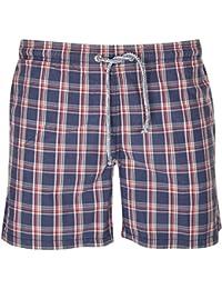 Gant Hommes Maillot de bain Bleu/Rouge C.G. Vintage Checked Swimtrunks 20978-414