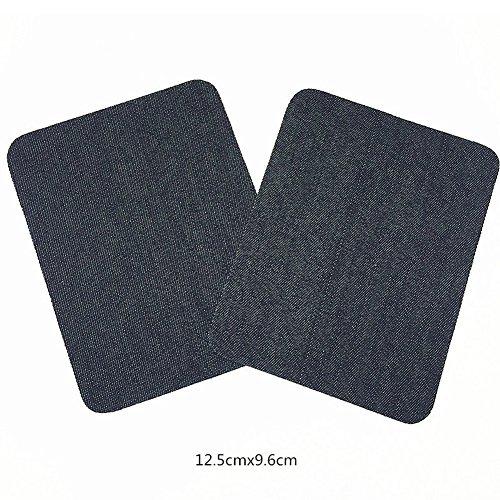 Imagen de dierdi applique motif 11pcs patch mano codo pegatinas de hierro o coser en parches insignias para jeans chaquetas ropa  hat hat hat alternativa