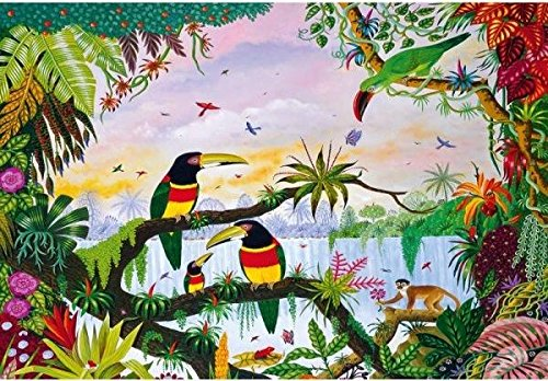 Puzzle Michele Wilson - La jungle d'Alain THOMAS - Bois - W162 -100
