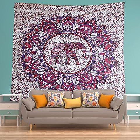 Éléphant Géométrie, Coton, violet, Taille