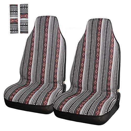 5a4e265cacd APRAMO Baja Vorne Autositzbezüge mit Gurtpolster Baja Eimer Stil Auto Seat  Protector Dekoration Auto Innen Staubdicht