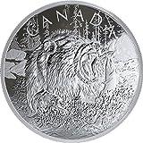 Grizzly Oso Primal Predators 16 Oz Moneda Plata 125$ Canada 2019