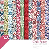 V & A Fsc Papercraft Collection Pack, Paper, Multi-Colour, 20 x 20 x 3 cm