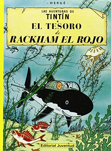 C - El tesoro de Rackham el Rojo (LAS AVENTURAS DE TINTIN CARTONE) por HERGE-TINTIN CARTONE II