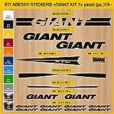 Kit Pegatinas Stickers Bicicleta GIANT XTC -KIT 7-19 piezas- Bike Cycle Cod. 0863 (070 NERO)
