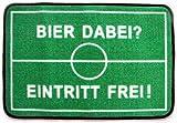 Unbekannt ErfurthFUN Fußmatte Bier dabei? Eintritt frei, 40 x 60 cm