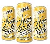 GN Laboratories Narc Fokus Zero - extreme Energy Drink mit 160mg Koffeingehalt pro Dose! - Ice Tea Pfirsich (6x250ml)