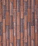 Badvorleger, Aquamat Antirutsch Matte, Bodenbelag, Bad Garten Küche, 100x65 cm, Länge wählbar, Holzoptik Terracotta