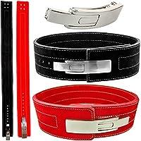 Cinturón profesional de levantamiento de potencia, levantamiento de pesas, culturismo, Profi Powerlifting, L = 95-105cm