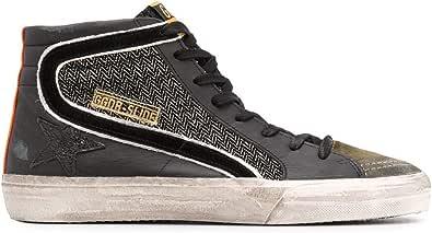 Golden Goose Luxury Fashion Uomo GMF00116F00037890183 Nero Pelle Hi Top Sneakers   Autunno-Inverno 20