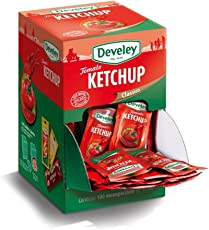 Aperisnack - AP05.009.01 Ketchup Develey monodose - 100 bustine da 15 ml