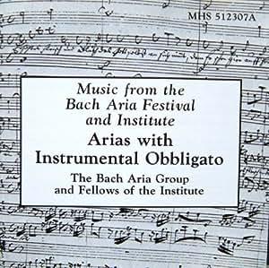 Arias with Instrumental Obbligato (UK Import)