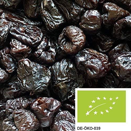 1kg BIO Pflaumen aus Frankreich, entsteint und getrocknet - leckere Trockenfrüchte ungeschwefelt und ungezuckert