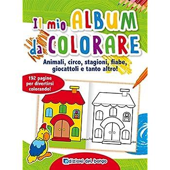 Il Mio Album Da Colorare. Animali, Circo, Stagioni, Fiabe, Giocattoli E Tanto Altro!