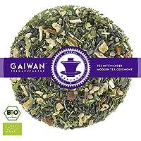 """N° 1290: Tè verde biologique in foglie """"Canapa Kashmir"""" - 100 g - GAIWAN® GERMANY - tè in foglie, tè bio, tè verde dalla Cina, tè cinese, canapa, cassia, zenzero, arancia, chiodi di garofano"""
