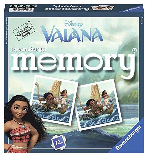 Ravensburger - 21226 - Grand Memory - Disney Vaiana - Jeu Educatif