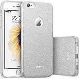 Custodia iPhone 6 Silicone,Case Cover per iPhone 6s in Silicone,ESR iPhone 6 Glitter Bling Case Cover iPhone 6 / 6S 4.7 inch (Maze Silver)