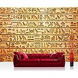 Liwwing FTVLPP-0180-400X280 - Vellón de fondos de escritorios 400x280cm - cima! premium plus fondo de pantalla! murales de papel tapiz mural mural pintado pared xxl imagen wanddeko pared jeroglíficos abstractas de edad -. n ° 180