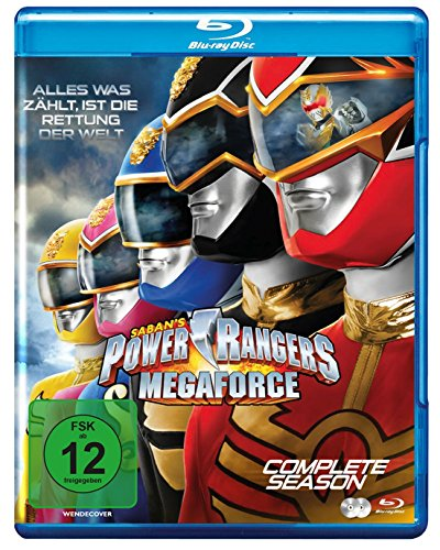 Power Rangers - Megaforce/Die Komplette Serie [Blu-ray]