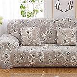 Rutschsicherer, elastischer Sofa-Schonbezug aus Polyester für einen 1, 2, 3 oder 4-Sitzer, von Fastar, a, 4 Seaters