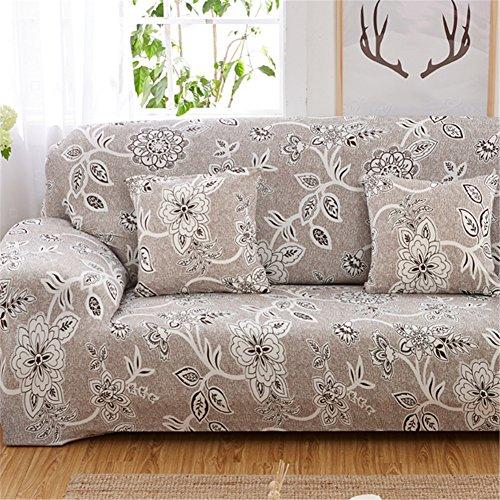 Fastar, copridivano elasticizzato per divani, copridivano con elastico anti-scivolo in poliestere, copertura protettiva per divani, a, 3 seaters