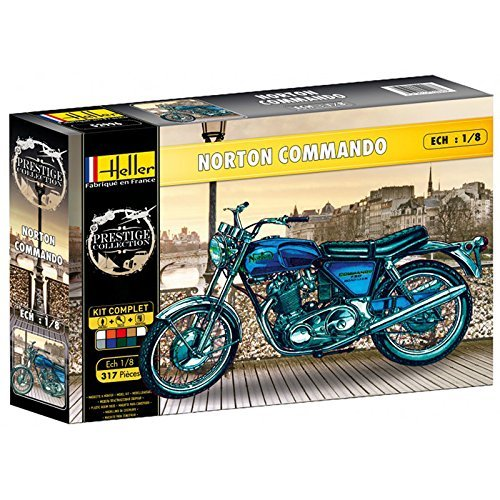 Heller 52996 - Modellbausatz Norton Commando