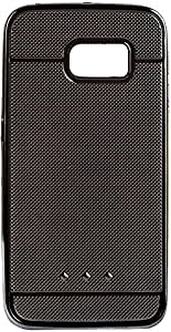 Purple Eyes Dot Metal Hard Back Case for Samsung Galaxy S7 (Grey)