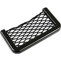 Luwu-Store Car Storage Net Bag Car Seat Side Phone Holder Organizer Universal Auto Net Pocket Mini
