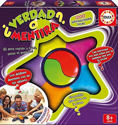 Educa Borrás - ¿Verdad O Mentira?, Multicolor (Educa...