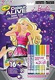 Crayola Color Alive - Kit de Loisirs Créatifs - Barbie...
