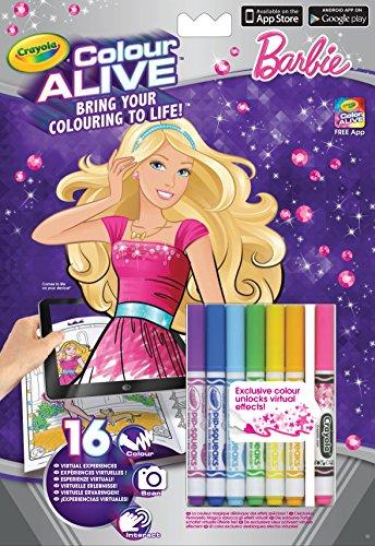 Crayola 95-1049 - Color Alive Barbie