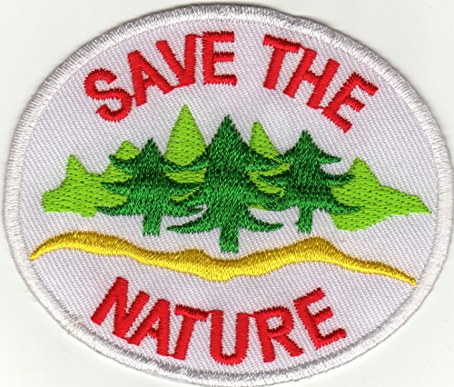 iron-on-patch-sew-on-embroidered-application-save-the-nature-badge-emblem-enviroment-ecology