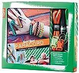 Kreativ-Set Paracord: Anleitungsbuch + Paracord, 3 Verschlüsse, 3 Schlüsselanhänger