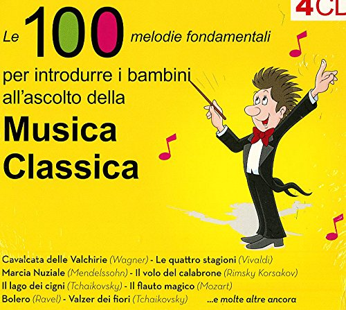 100 Melodie per Bambini Musica Classica (4 CD)