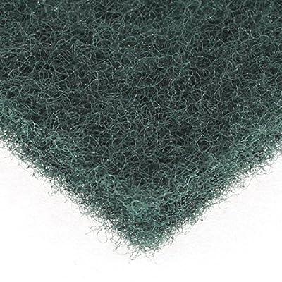 Schwamm Haushalt Schüssel-Teller Reinigungsfilz 147mm x 100mm 5pcs Amy Green von DealMux