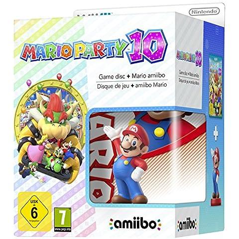 Wii U Mario Party 10 + Amiibo Mario [Bundle] - Limited Edition [Importación Italiana]