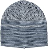 maximo Mädchen Mütze Beanie Middle, Blau (Bluemeliert/Wollweiss 6338), 55