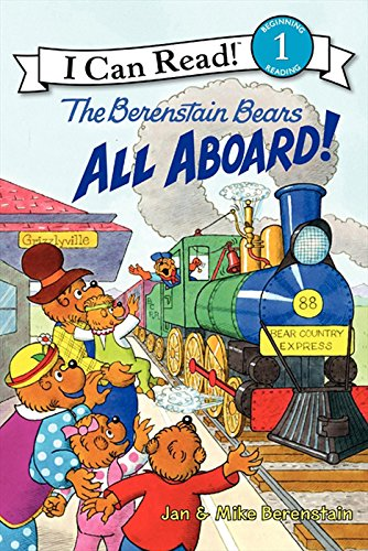 The Berenstain Bears: All Aboard! (I Can Read Level 1) (English Edition)