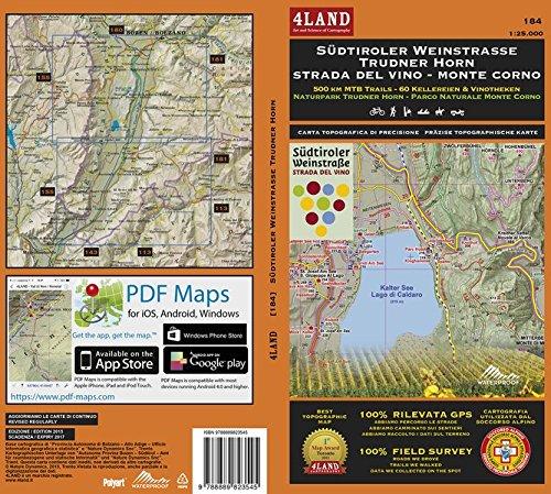 sudtiroler-strada-del-vino-monte-corno-500-km-mtb-trails-parco-monte-corno-ediz-italiana-inglese-e-t
