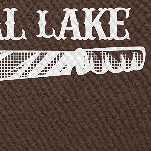 TEXLAB - I survived Camp Crystal Lake - Herren T-Shirt Braun