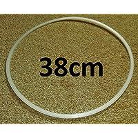 Base di protezione per pavimenti da sgabello da bar, 2 x 38 cm
