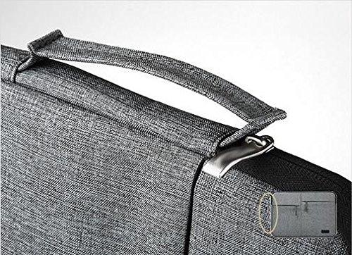 Z&HXComputer-Tasche Laptop-Tasche Laptop-Tasche wasserdicht multifunktionale Art und Weise beil?ufige Black