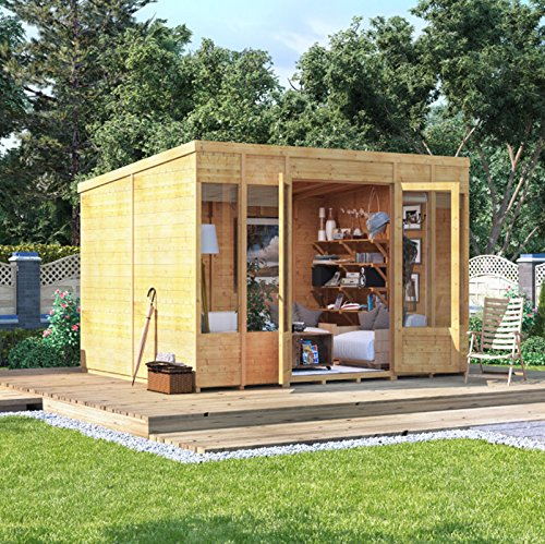X BillyOh Bella Tongue And Groove Modern Garden Summerhouse - Modern garden summer house