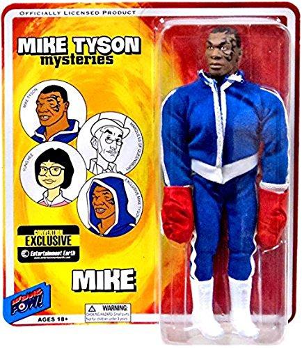 Mike Tyson Mysteries Retro Action Figure Figura Mike Tyson Convention Exclusive 20 cm Bif Bang Pow!