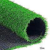 WENZHE Rasenteppich Rasenteppich Kunstrasen Kunstrasenteppich Kunststoff Grüner Teppich Draussen Innen Multifunktion, 2 Meter Breit, 4 Dicken, Größe Anpassbar (Farbe : 25mm, größe : 2x4m)