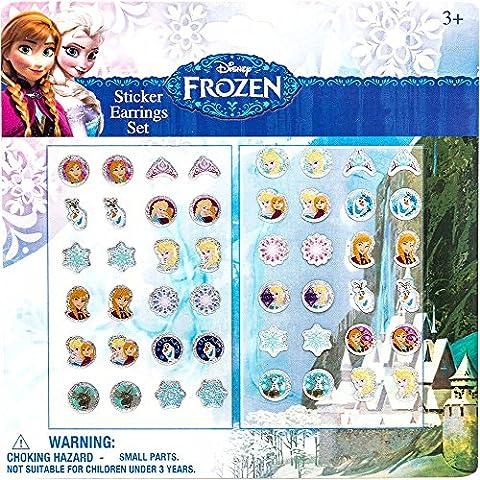Joy Toy - 755070 - Boucles d'oreilles - Disney Frozen - 24 Pièces
