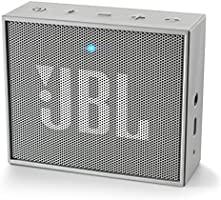 JBL Go Ultra Portable Rechargeable Bluetooth Speaker with Aux-In Compatible - Grey