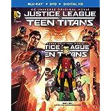Justice League vs Teen Titans (Deluxe Edition) + DVD + Digital HD + Figure