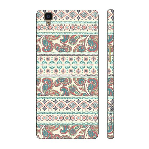 Enthopia Designer Hardshell Case Aztec Motif 2 Back Cover for Oppo R7s  available at amazon for Rs.595